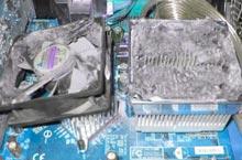 Чистка компьютера, ноутбука от грязи и пыли